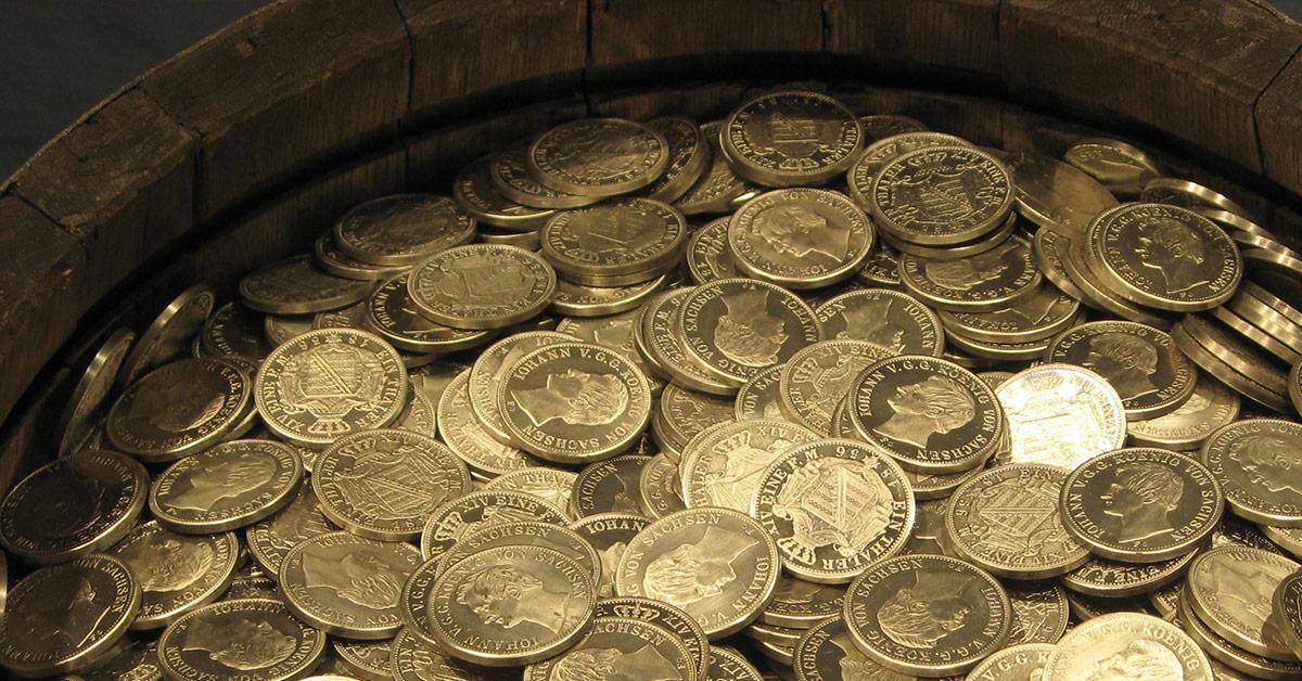 Un trésor ! 2000 pièces d'or en Bourgogne