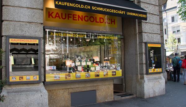 boutique achat d'or à Lucerne