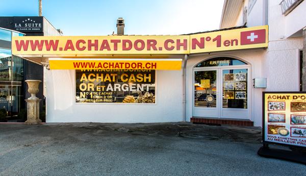 boutique achat d'or Etoy Vaud