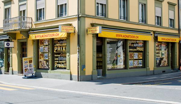 boutique achat d'or Bienne