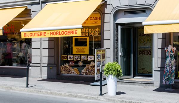 boutique achat d'or Montreux Vaud