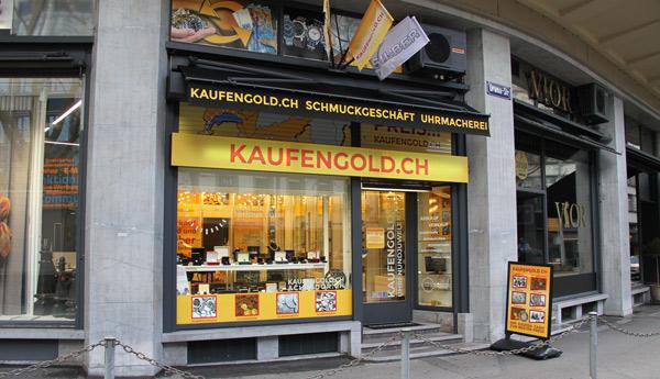 boutique achat d'or Zurich