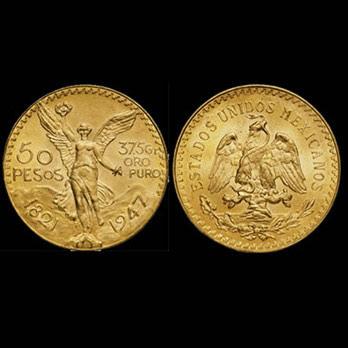 pièces or 50 pesos