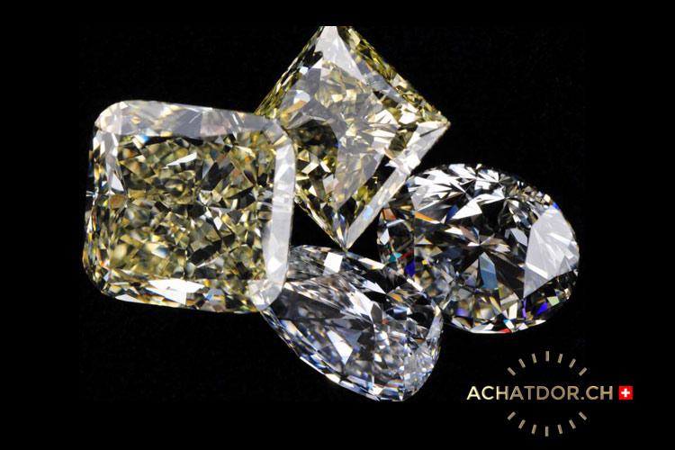 photo de diamants et pierres précieuses