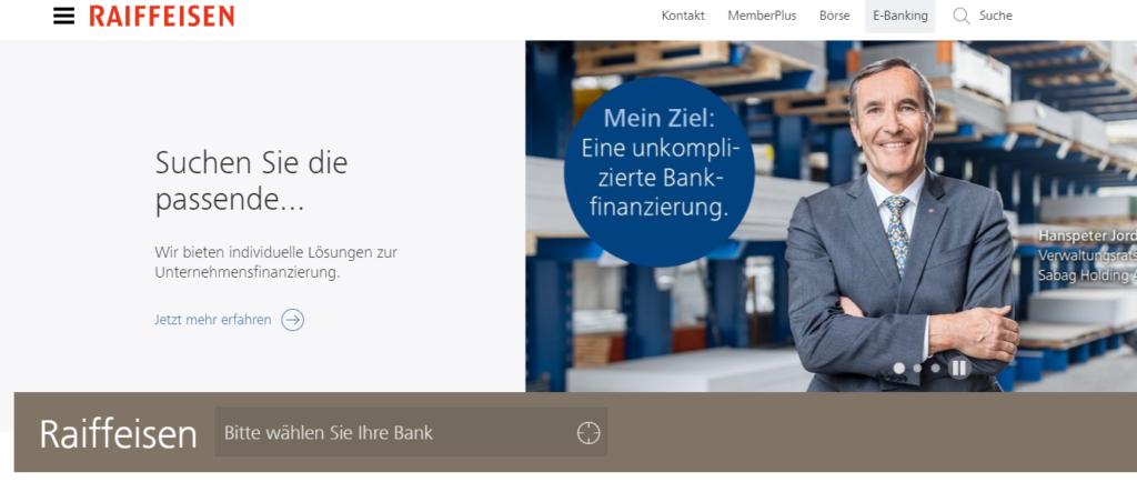 12 meilleures banques de Suisse