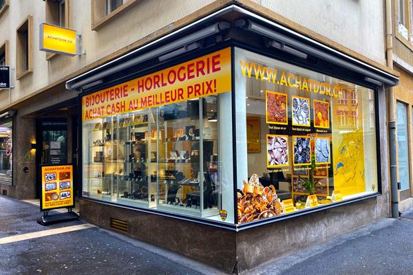 boutique achat d'or Neuchâtel