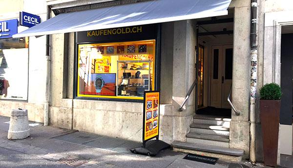 boutique achat d'or Soleure